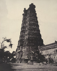 The Great Pagoda. The western gopuram [Minakshi Sundareshvara Temple, Madurai]